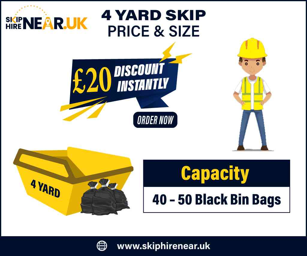 4 Yard Skip Hire Near Me